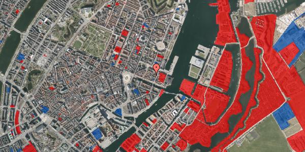 Jordforureningskort på Nyhavn 31F, 3. tv, 1051 København K