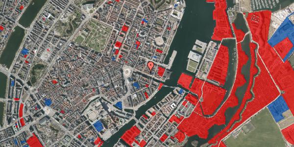 Jordforureningskort på Nyhavn 33, 1. , 1051 København K