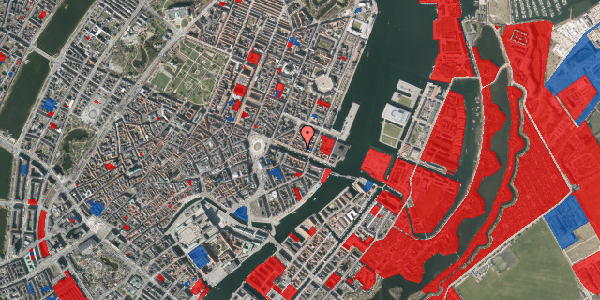 Jordforureningskort på Nyhavn 35, 1. , 1051 København K