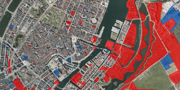Jordforureningskort på Nyhavn 38, 1. tv, 1051 København K