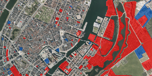 Jordforureningskort på Nyhavn 40, 4. tv, 1051 København K