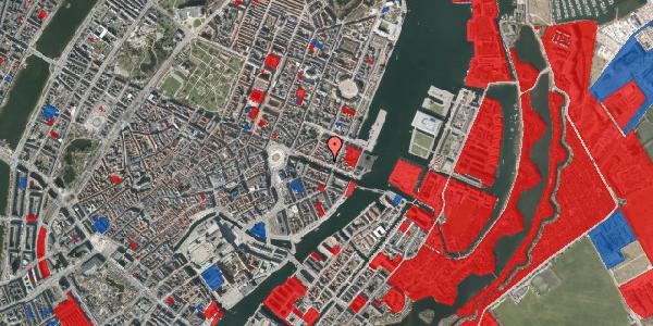 Jordforureningskort på Nyhavn 41, 3. tv, 1051 København K