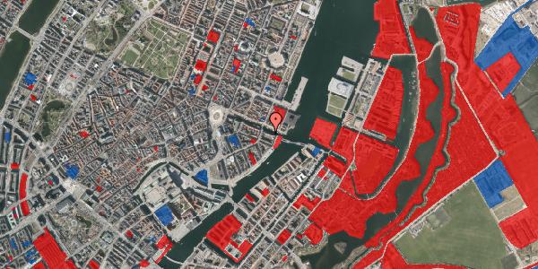 Jordforureningskort på Nyhavn 42A, 2. tv, 1051 København K