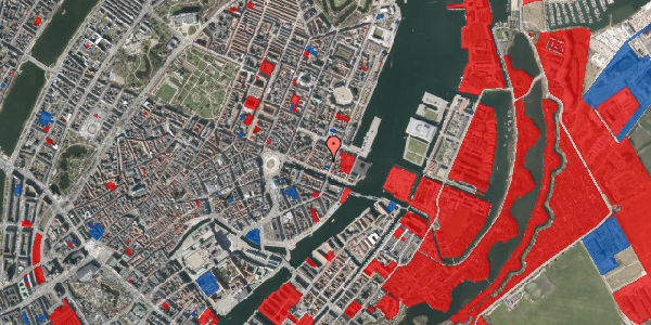 Jordforureningskort på Nyhavn 43B, 1. , 1051 København K