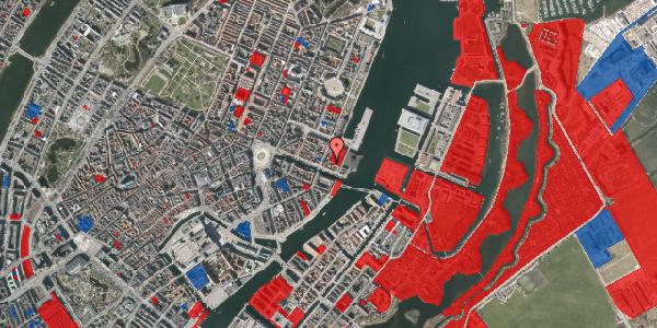Jordforureningskort på Nyhavn 57B, 1. , 1051 København K