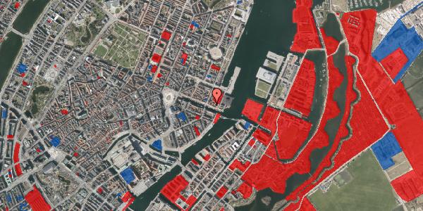 Jordforureningskort på Nyhavn 59, 1. , 1051 København K