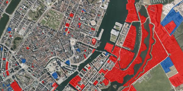 Jordforureningskort på Nyhavn 61, 1. , 1051 København K