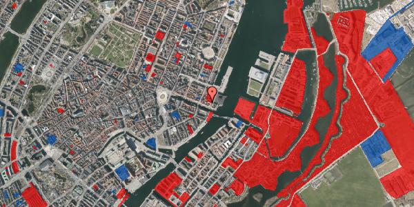 Jordforureningskort på Nyhavn 63B, 3. , 1051 København K
