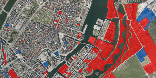 Jordforureningskort på Nyhavn 65, 1. , 1051 København K