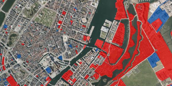 Jordforureningskort på Nyhavn 71, 1051 København K