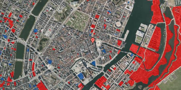 Jordforureningskort på Ny Østergade 3, kl. 3, 1101 København K