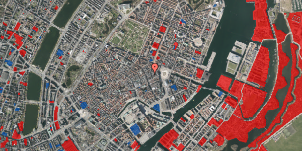Jordforureningskort på Ny Østergade 5, 1. , 1101 København K