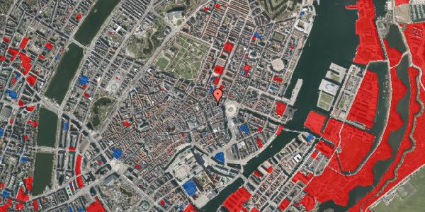 Jordforureningskort på Ny Østergade 10, 5. tv, 1101 København K