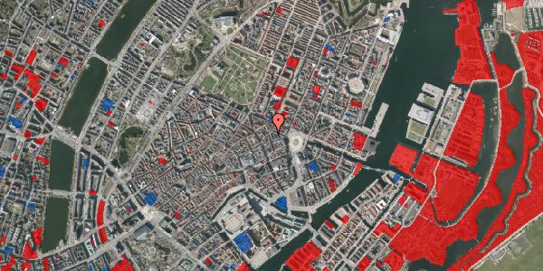 Jordforureningskort på Ny Østergade 12, 1. , 1101 København K