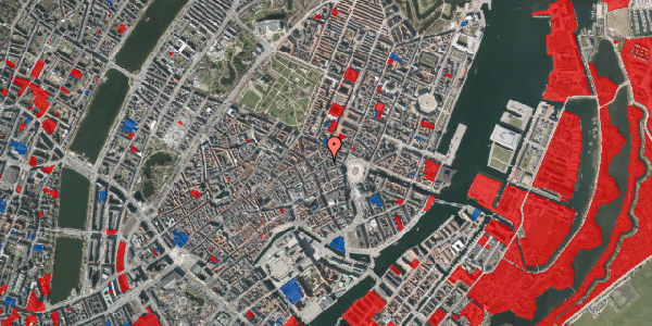 Jordforureningskort på Ny Østergade 12, 4. , 1101 København K