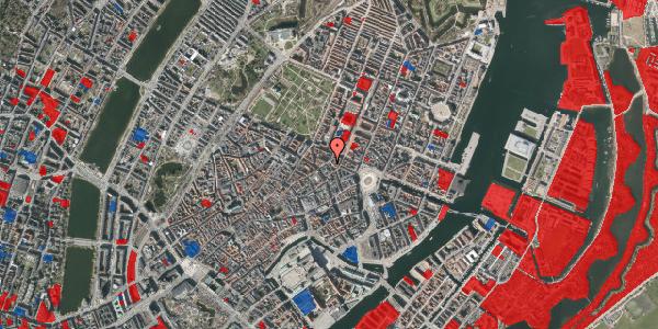 Jordforureningskort på Ny Østergade 15, 3. , 1101 København K