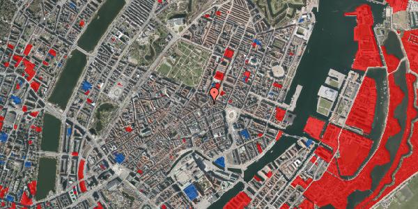 Jordforureningskort på Ny Østergade 20, 4. tv, 1101 København K