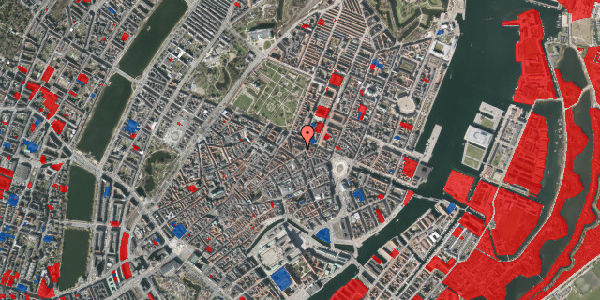 Jordforureningskort på Ny Østergade 21, kl. 2, 1101 København K