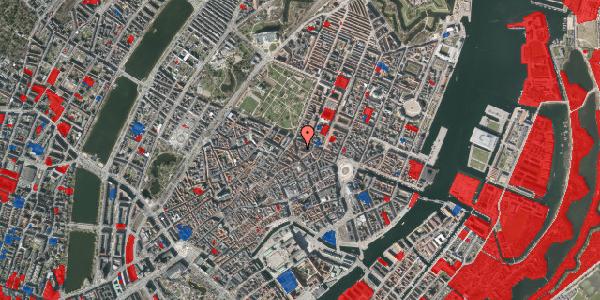 Jordforureningskort på Ny Østergade 25, st. , 1101 København K