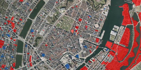 Jordforureningskort på Ny Østergade 32, 2. mf, 1101 København K