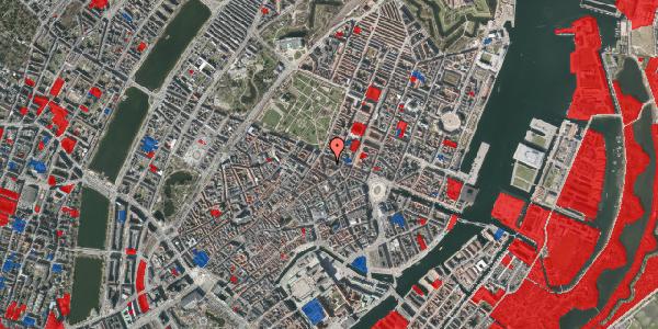 Jordforureningskort på Ny Østergade 32, 3. tv, 1101 København K