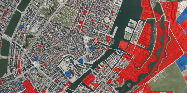 Jordforureningskort på Peder Skrams Gade 1, 3. mf, 1054 København K