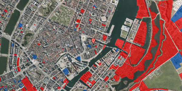 Jordforureningskort på Peder Skrams Gade 3, 1. , 1054 København K