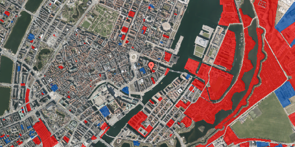 Jordforureningskort på Peder Skrams Gade 11, 1. th, 1054 København K