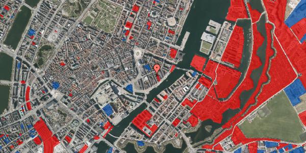 Jordforureningskort på Peder Skrams Gade 16A, 1. , 1054 København K