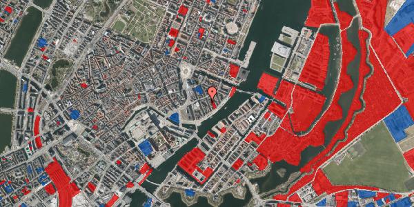 Jordforureningskort på Peder Skrams Gade 16B, 1. tv, 1054 København K