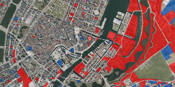 Jordforureningskort på Peder Skrams Gade 17A, 1. tv, 1054 København K