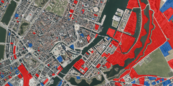 Jordforureningskort på Peder Skrams Gade 26, 1. th, 1054 København K