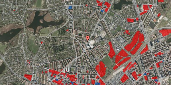 Jordforureningskort på Peter Rørdams Vej 4, 1. th, 2400 København NV