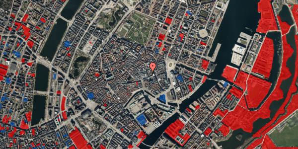 Jordforureningskort på Pilestræde 4, 1. tv, 1112 København K