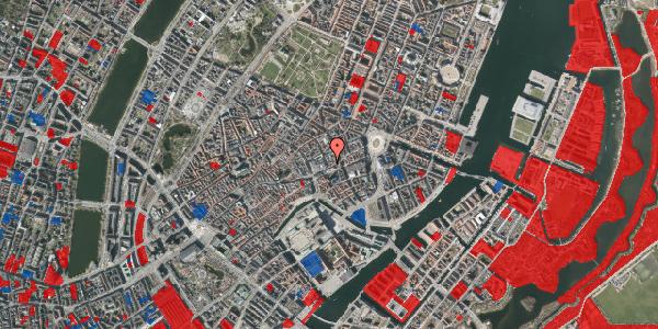 Jordforureningskort på Pilestræde 4, 3. , 1112 København K