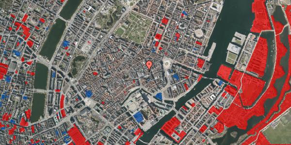 Jordforureningskort på Pilestræde 6, 3. , 1112 København K