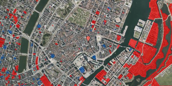 Jordforureningskort på Pilestræde 8, 2. tv, 1112 København K
