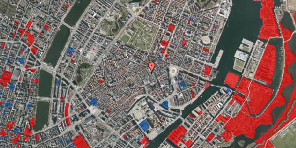 Jordforureningskort på Pilestræde 21, 3. 4, 1112 København K