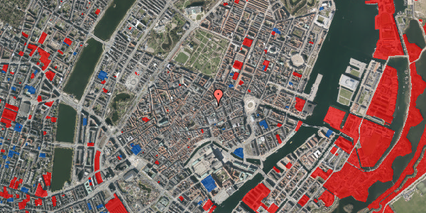 Jordforureningskort på Pilestræde 29, 3. th, 1112 København K