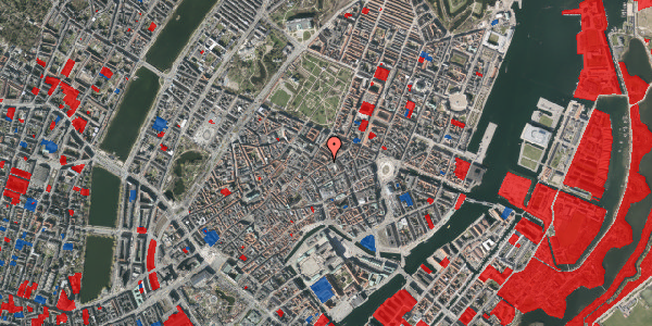 Jordforureningskort på Pilestræde 40B, 4. , 1112 København K