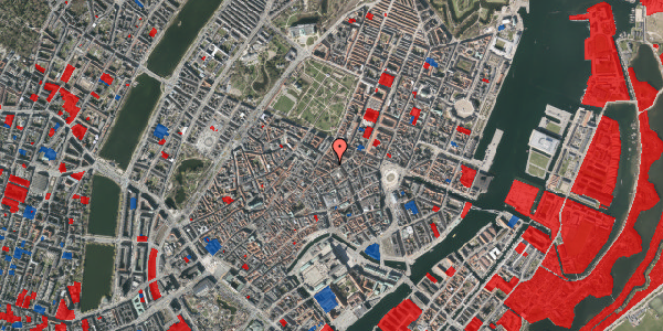 Jordforureningskort på Pilestræde 40C, 1. th, 1112 København K