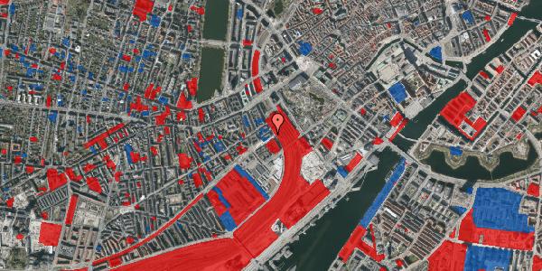 Jordforureningskort på Reventlowsgade 22, st. tv, 1651 København V