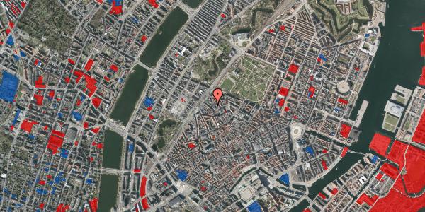 Jordforureningskort på Rosenborggade 2, 1. th, 1130 København K