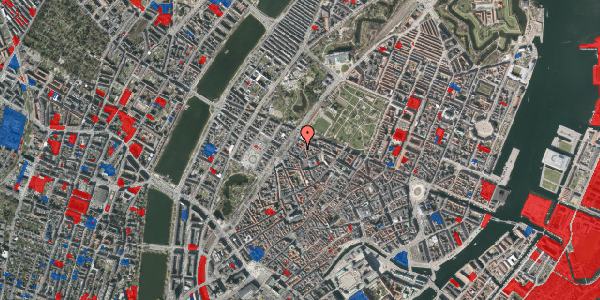 Jordforureningskort på Rosenborggade 3, 1. , 1130 København K