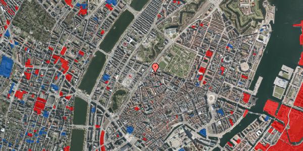 Jordforureningskort på Rosenborggade 5A, 4. , 1130 København K