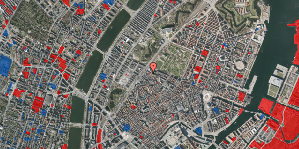 Jordforureningskort på Rosenborggade 7, 1. , 1130 København K