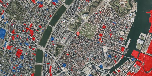 Jordforureningskort på Rosenborggade 7, 1. 2, 1130 København K