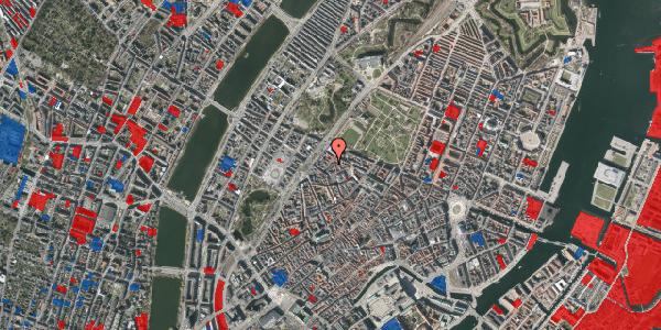Jordforureningskort på Rosenborggade 8, 3. tv, 1130 København K