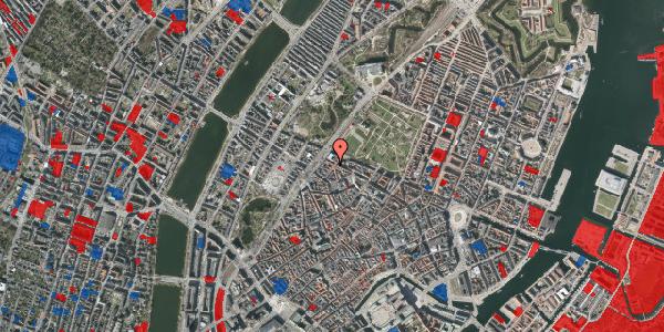 Jordforureningskort på Rosenborggade 9, st. , 1130 København K