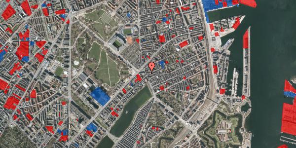 Jordforureningskort på Rosenvængets Allé 3, st. tv, 2100 København Ø